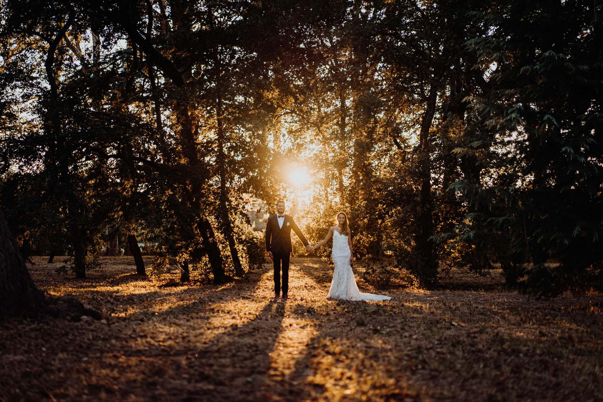 mariage perpignan coucher de soleil