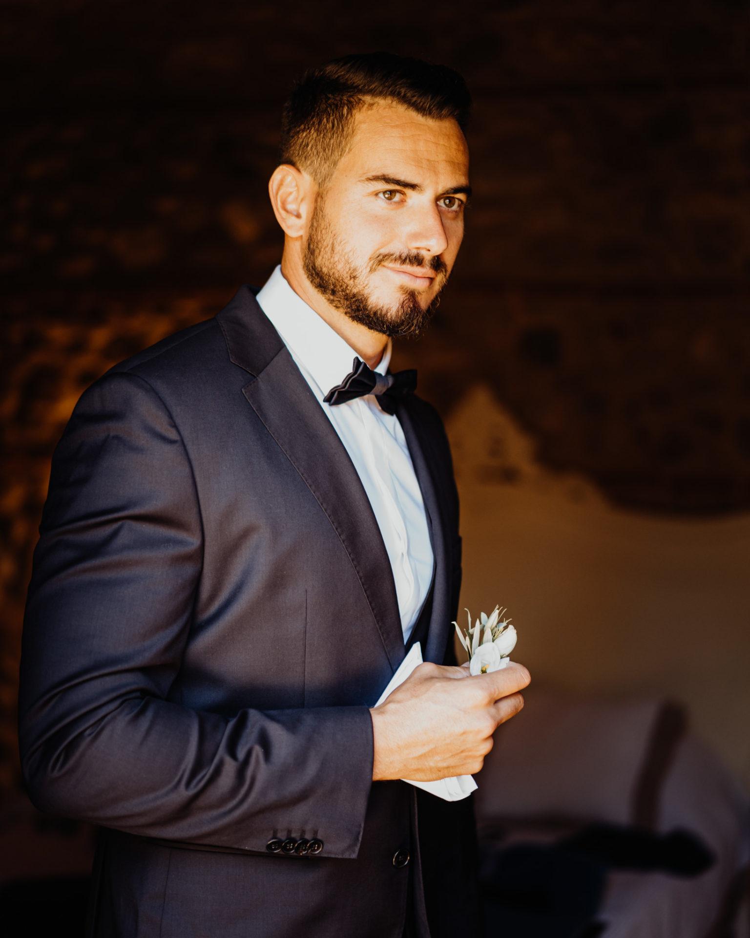 préparatifs homme mariage sud de la France