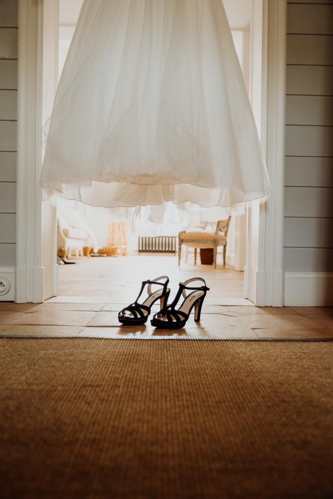 mariage gers robe de mariée chaussures