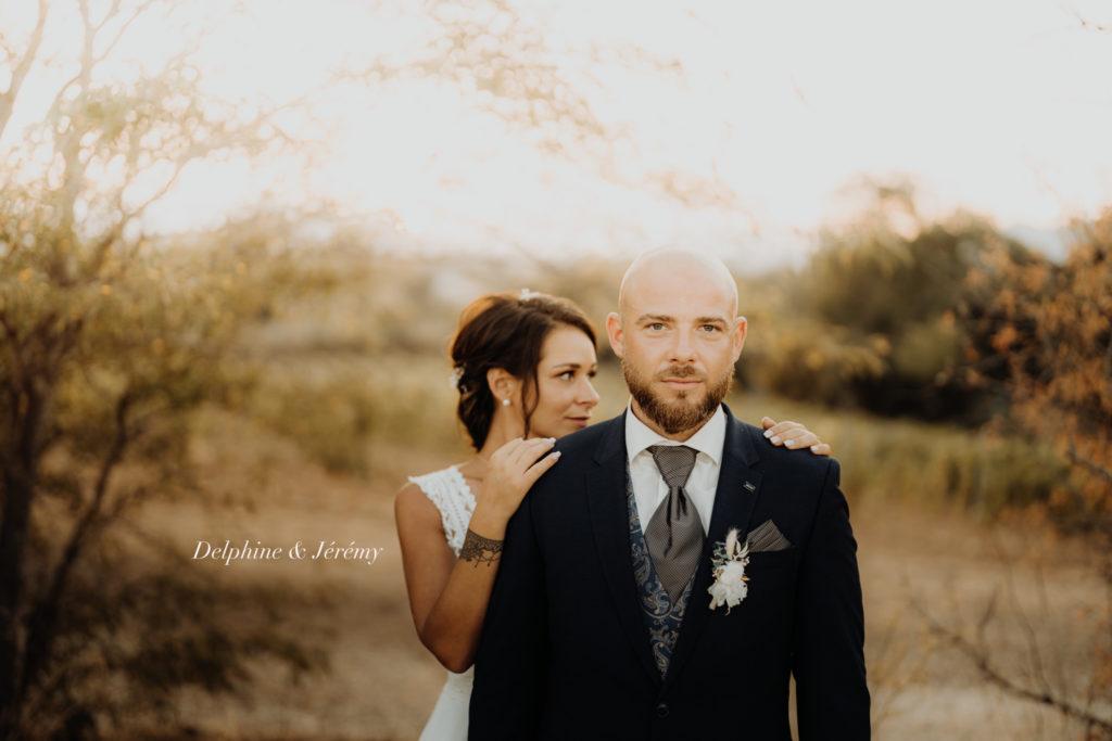 mariage perpignan séance couple été coucher de soleil